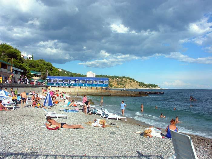 Лучшие пляжи Мисхора (Кореиза Крым: фото, отзывы, описания) 83