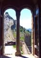 Вид из замка на Девичью башню