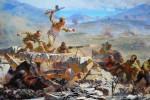 Фрагмент полотна Диорамы