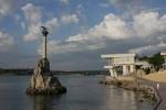 Севастополь-памятник Затопленным кораблям