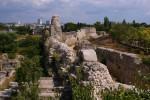 Современный город вокруг древнего городища