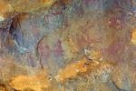 Рисунки первобытного человека на скалах стоянки Таш-Аир