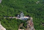 Форосский храм -вид сверху
