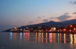 Вид на вечернюю Ялту
