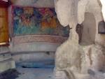 Древние фрески Храма Трех Всадников