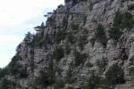 Отвесные стены Узунджинского каньона