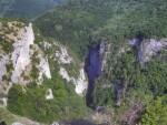 Вид каньона сверху